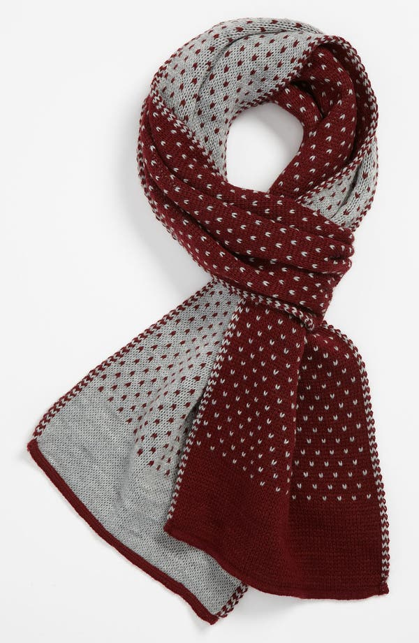 Alternate Image 1 Selected - Topman Pattern Scarf