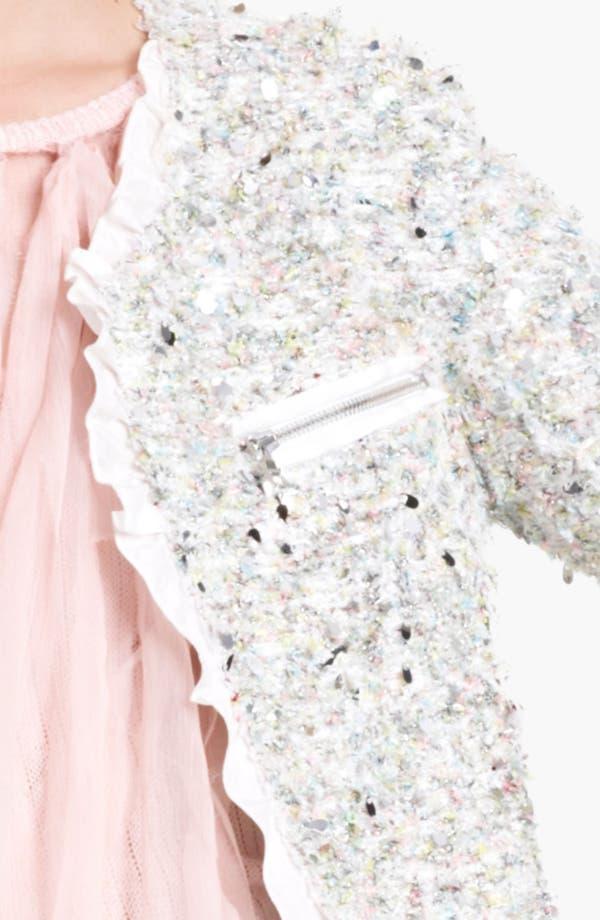 Alternate Image 3  - Nina Ricci Paillette Tweed Jacket