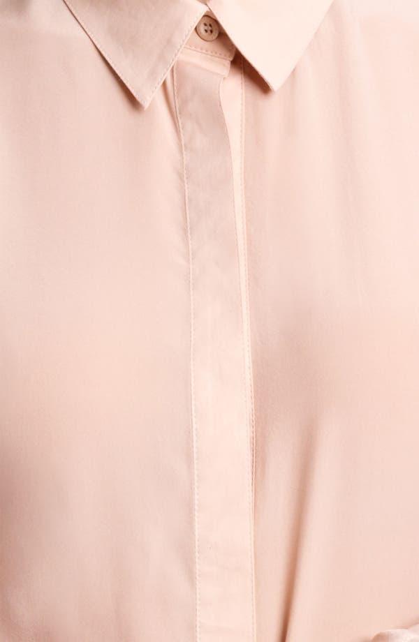 Alternate Image 2  - Reed Krakoff Seamed Chiffon & Jersey Blouse