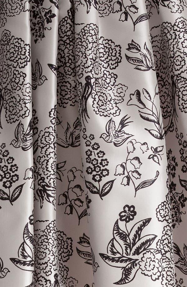 Alternate Image 3  - Jil Sander Navy Nature Print Silk Skirt