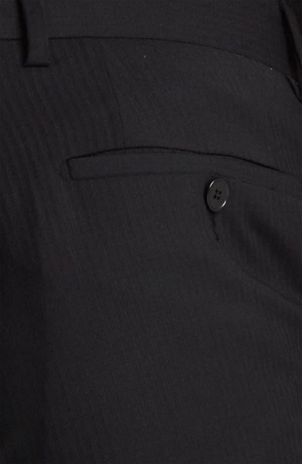 Alternate Image 6  - Dolce&Gabbana Tonal Stripe Suit