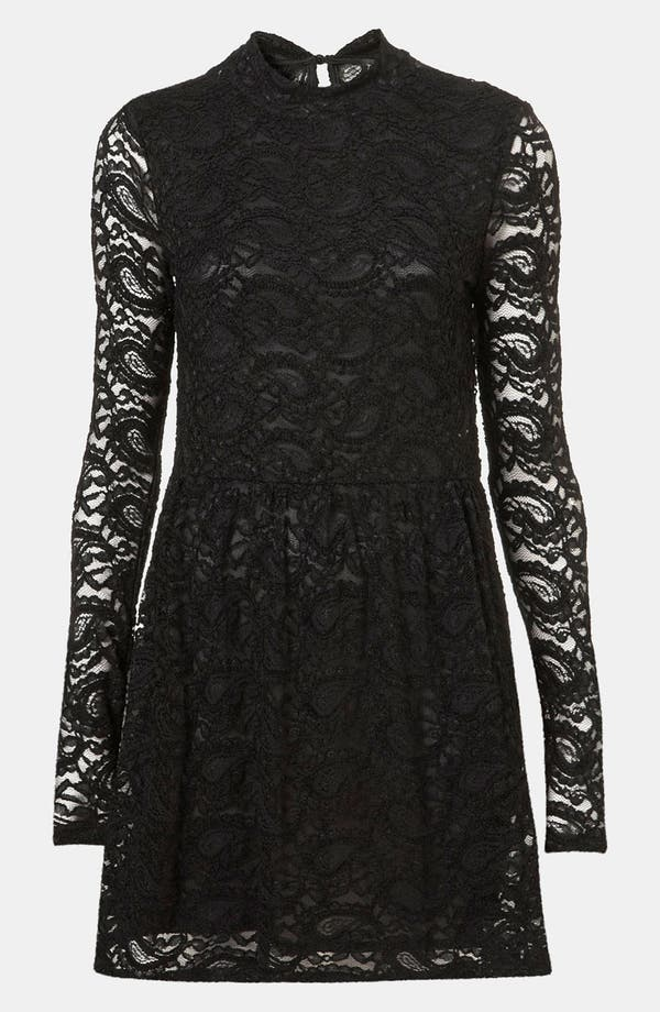 Alternate Image 1 Selected - Topshop Paisley Lace Dress