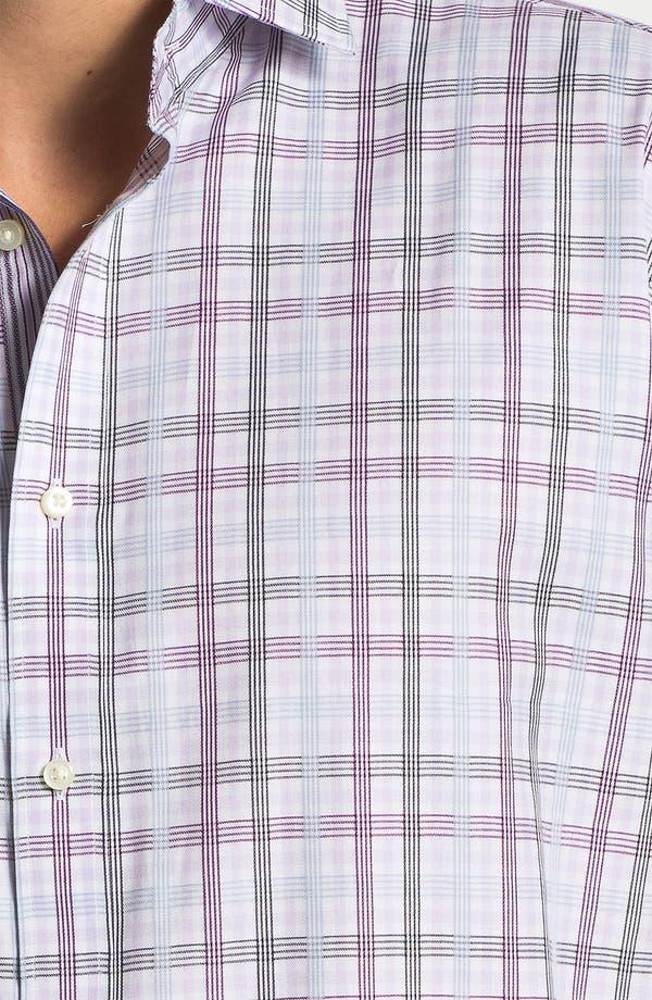 Alternate Image 3  - Thomas Dean Regular Fit Sport Shirt
