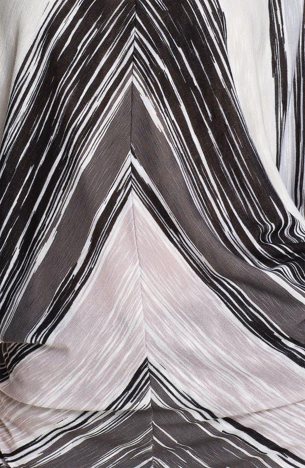 Alternate Image 3  - Ella Moss Stripe Cutout Shoulder Top