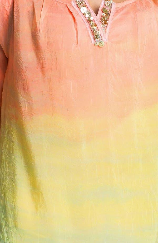 Alternate Image 3  - Barbara Lesser Embellished Scoop Neck Blouse