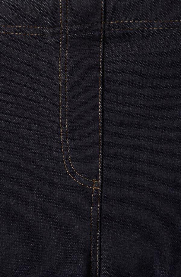 Alternate Image 3  - Topshop Denim Leggings