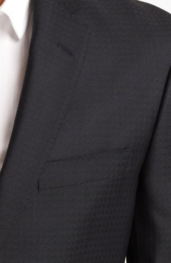 Alternate Image 3  - Versace Trim Fit Houndstooth Blazer