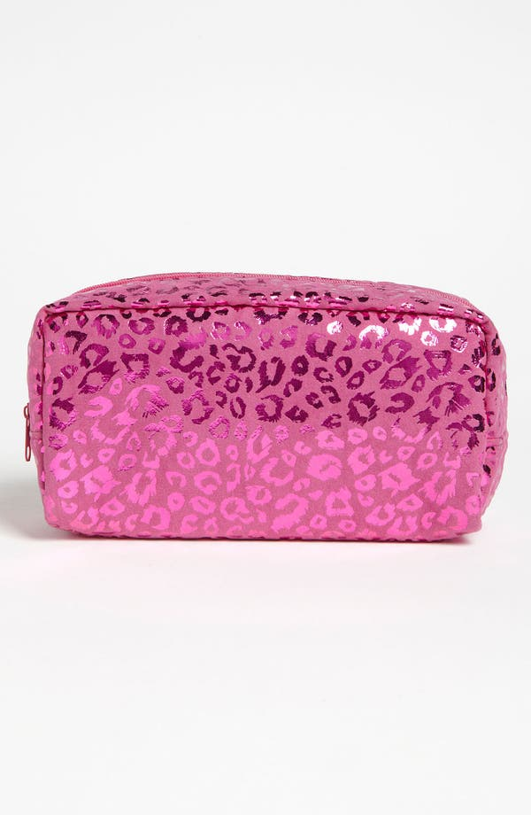 Alternate Image 1 Selected - BP. Metallic Fuchsia Leopard Print Pouch