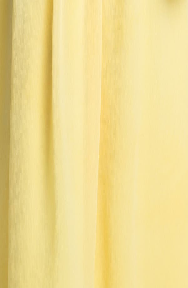 Alternate Image 3  - Max & Cleo Strapless Chiffon Gown