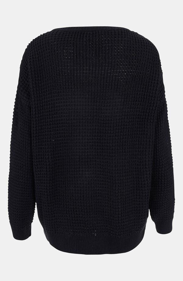 Alternate Image 2  - Topshop Varsity Letter Sweater