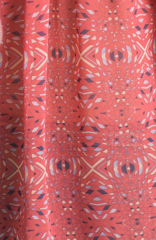 Alternate Image 3  - Free People Kaleidoscope Print Chiffon Shirt