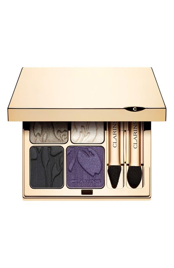 Alternate Image 1 Selected - Clarins 'Rouge Éclat Spring Make-Up Collection' Eye Quartet Mineral Palette