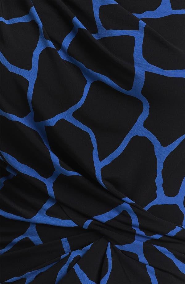 Alternate Image 3  - MICHAEL Michael Kors Print Draped Top