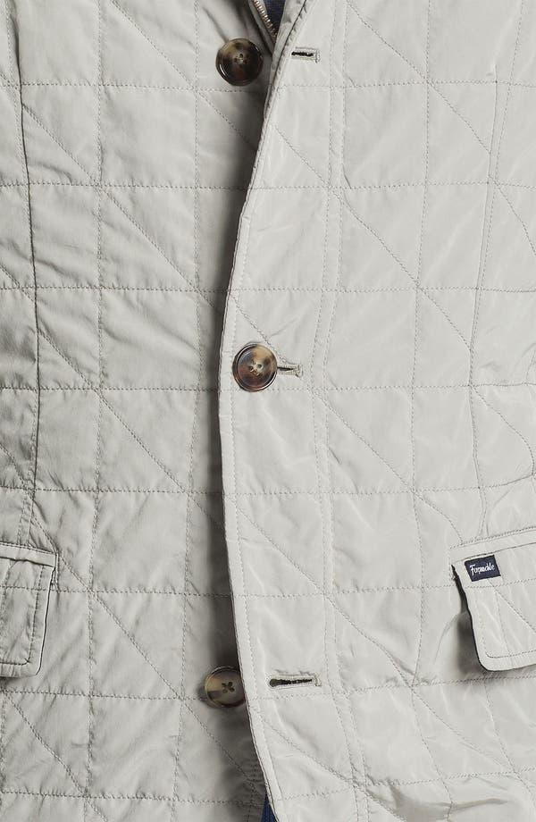 Alternate Image 3  - Façonnable Microfiber Quilted Jacket