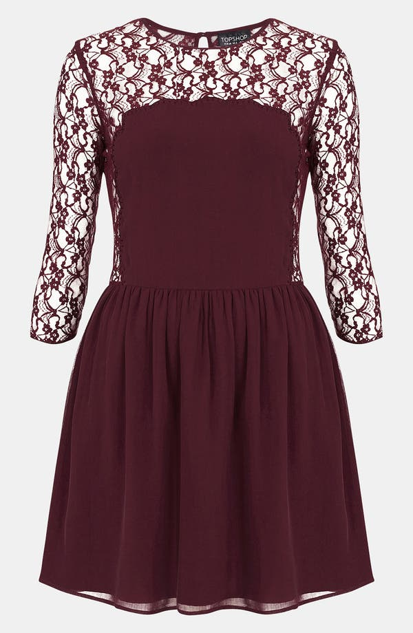 Main Image - Topshop 'Flippy' Dress