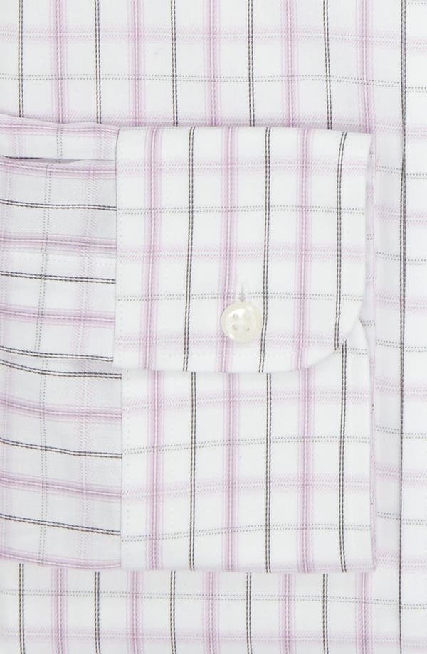 Alternate Image 2  - Nordstrom Non-Iron Traditional Fit Dress Shirt (Online Only)