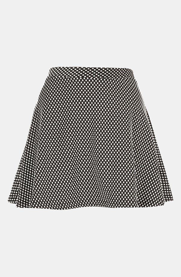 Main Image - Topshop Polka Dot Skater Skirt