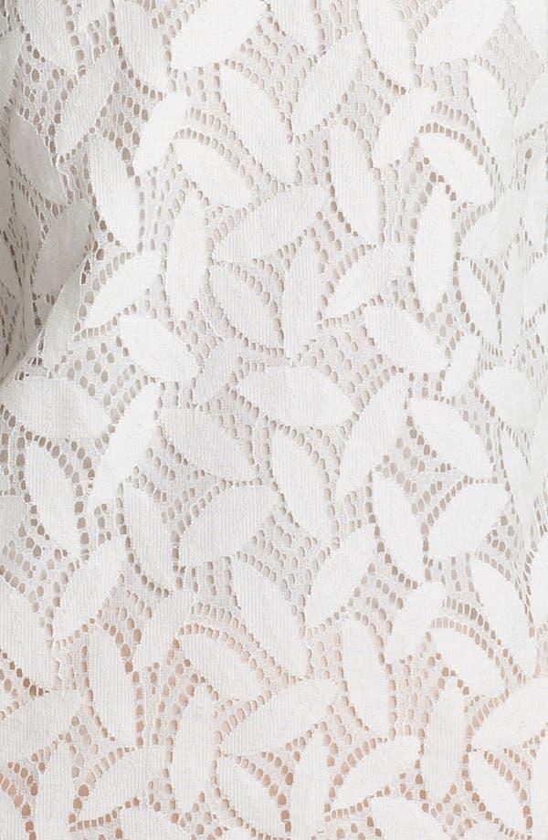 Alternate Image 3  - Diane von Furstenberg 'Acedia' Lace Tee