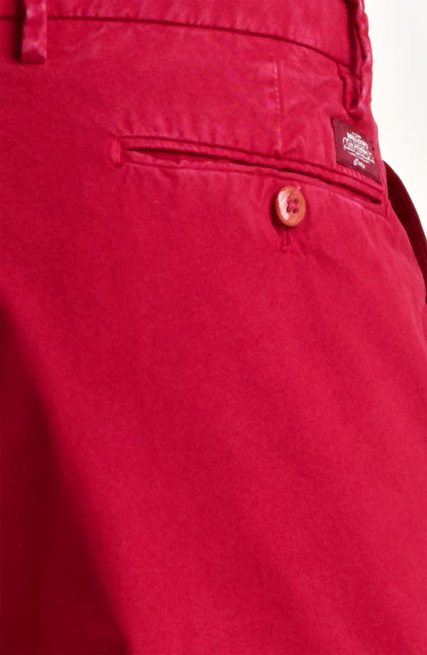 Alternate Image 3  - Mason's New York Fit Cotton Shorts