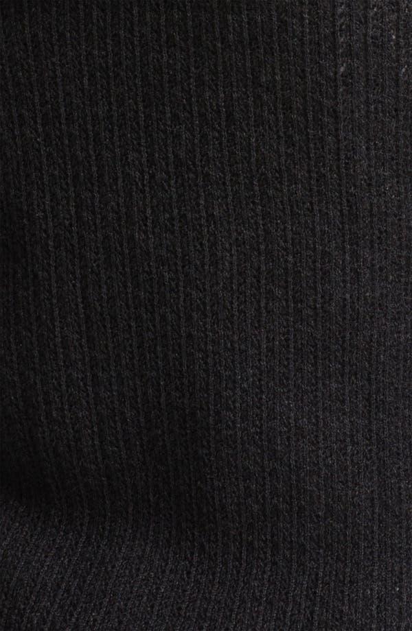 Alternate Image 3  - Caslon® Textured Knit Hoodie (Petite)