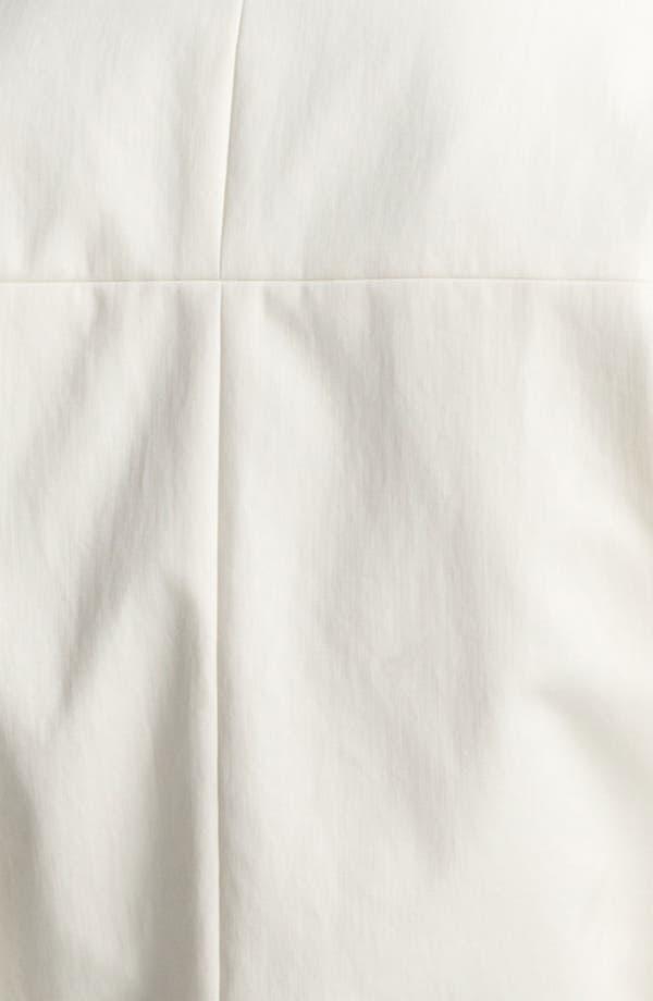 Alternate Image 5  - Halston Heritage Leather Detail Cotton Jacket