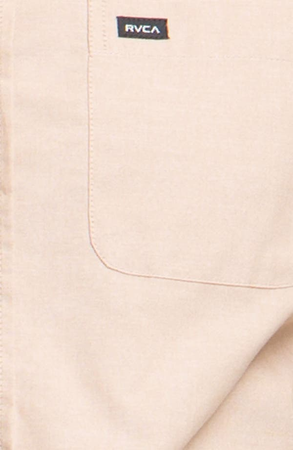 Alternate Image 3  - RVCA 'That'll Do' Short Sleeve Oxford Shirt