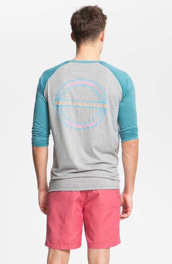 Alternate Image 2  - Vanguard 'Skate Supply' Graphic Baseball T-Shirt