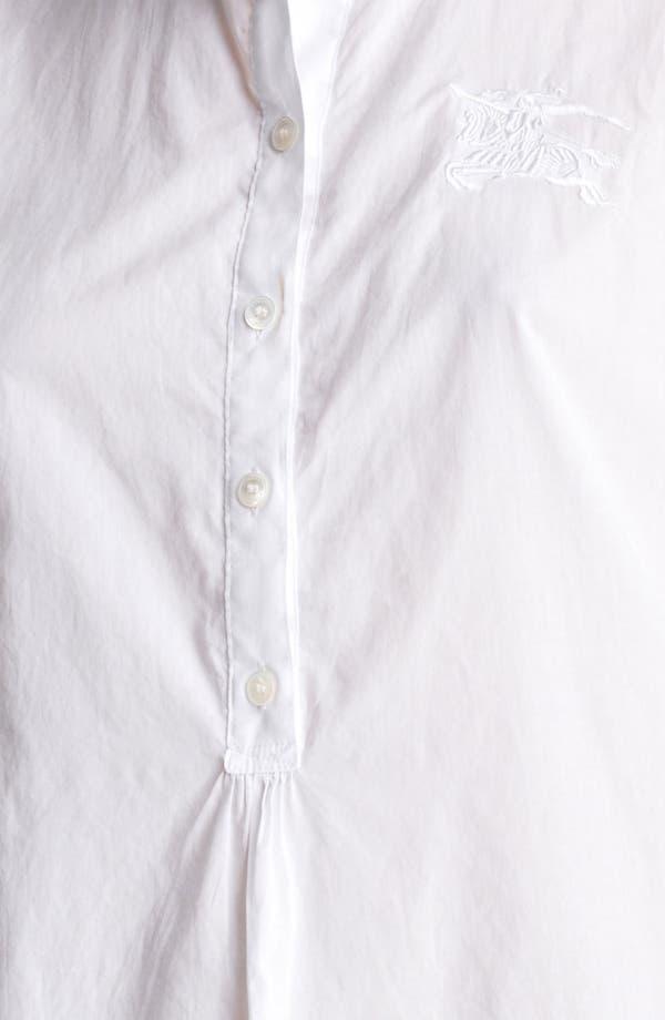 Alternate Image 3  - Burberry Brit Check Cuff Tunic Top