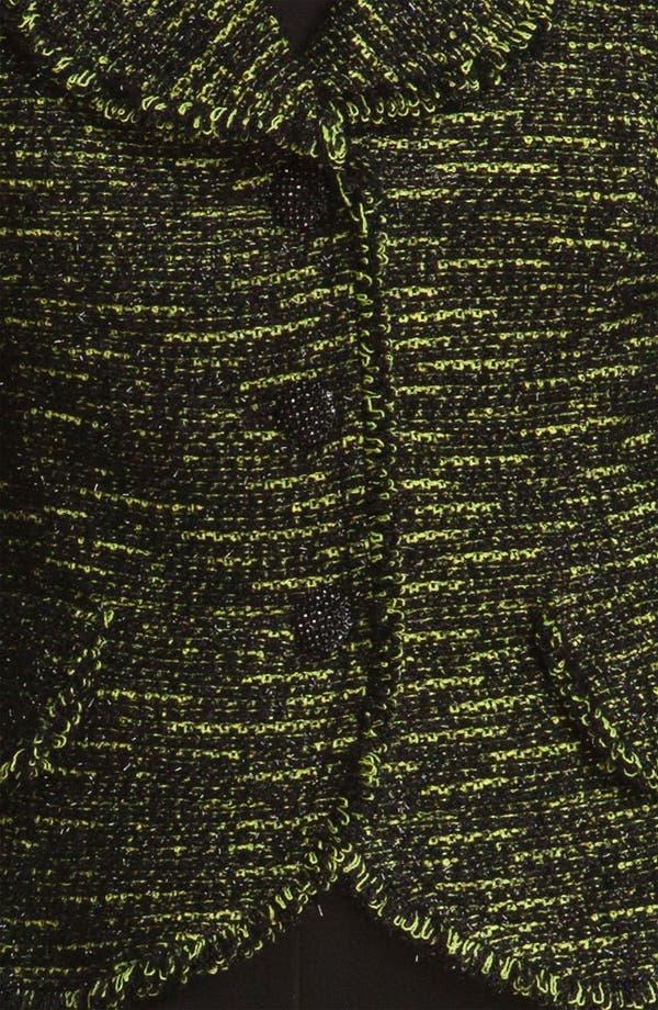 Alternate Image 5  - St. John Collection Fringe Tweed Jacket