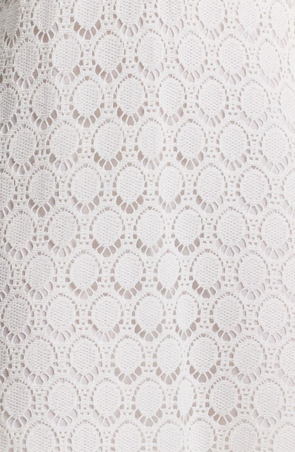 Alternate Image 3  - Trina Turk 'Deep Sea' Lace Cotton Shift Dress