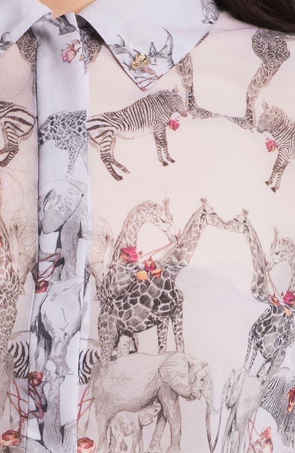 Alternate Image 3  - Ted Baker London 'Safari Play' Print Shirt (Online Only)