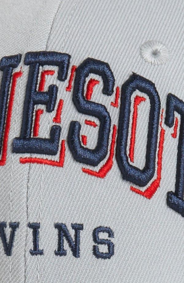 Alternate Image 3  - New Era Cap 'Minnesota Twins - Arch Mark' Fitted Baseball Cap