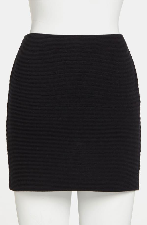 Alternate Image 3  - BB Dakota Ribbed Skirt