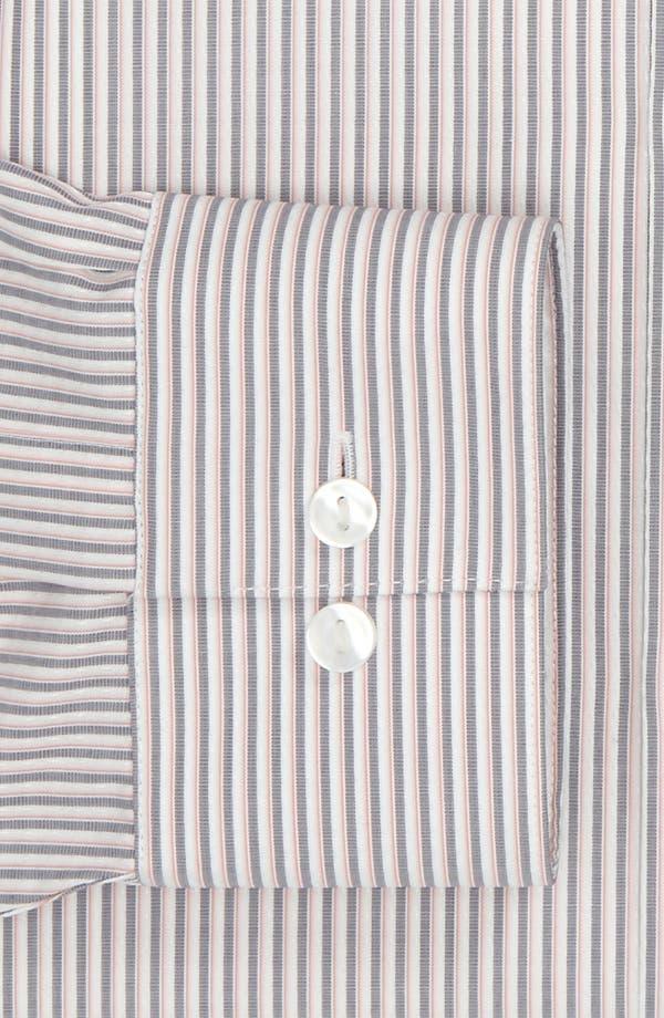 Alternate Image 2  - Calvin Klein 'South Beach Stripe' Slim Fit Dress Shirt