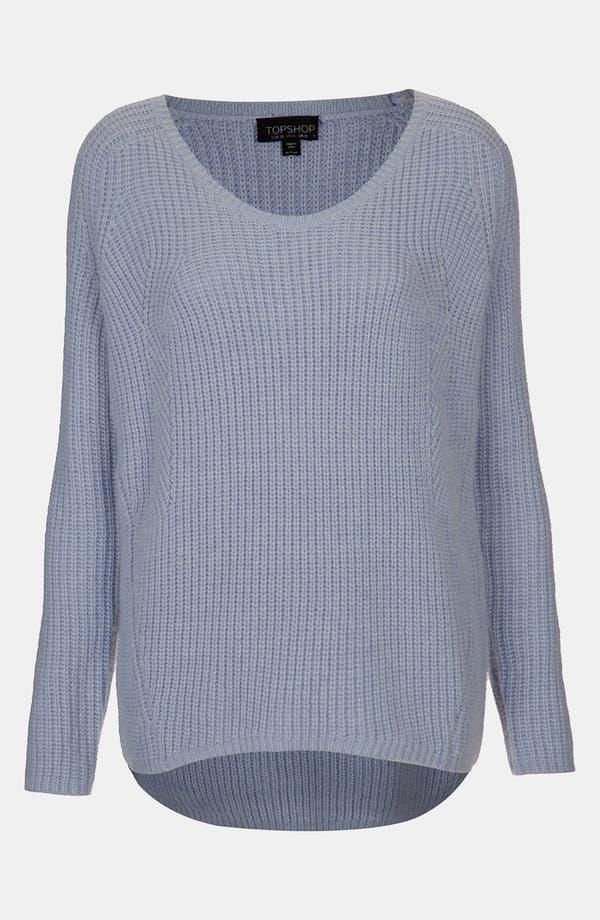 Main Image - Topshop Scoop Neck Sweater