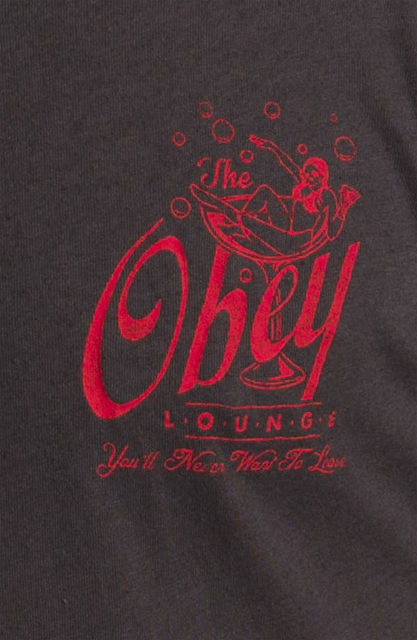 Alternate Image 3  - Obey 'Lounge Act' T-Shirt