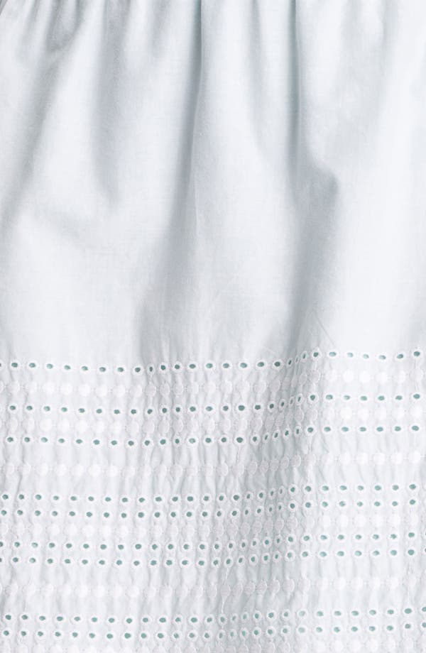Alternate Image 3  - Caslon Eyelet Cotton Skirt