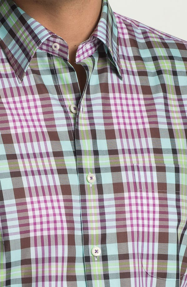 Alternate Image 3  - Peter Millar 'Oxford' Regular Fit Sport Shirt