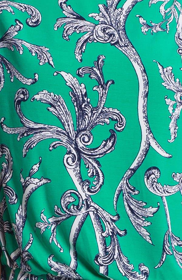 Alternate Image 3  - Laundry by Shelli Segal Mix Print Jersey Blouson Dress