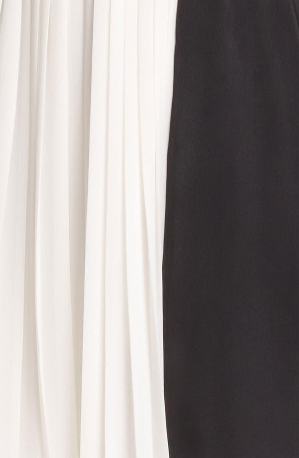Alternate Image 3  - DKNYC Pleated Colorblock Dress