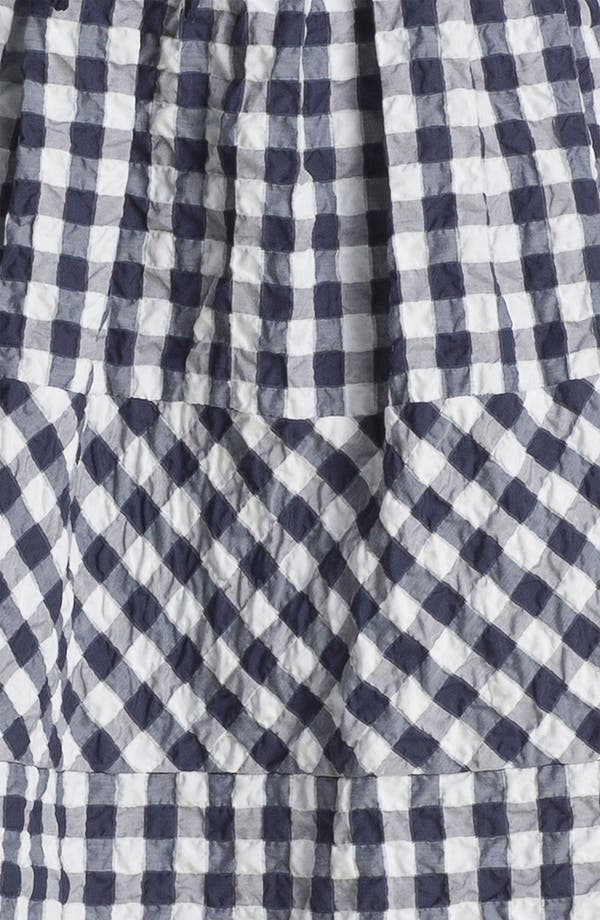 Alternate Image 3  - Taylor Dresses Gingham Fit & Flare Dress