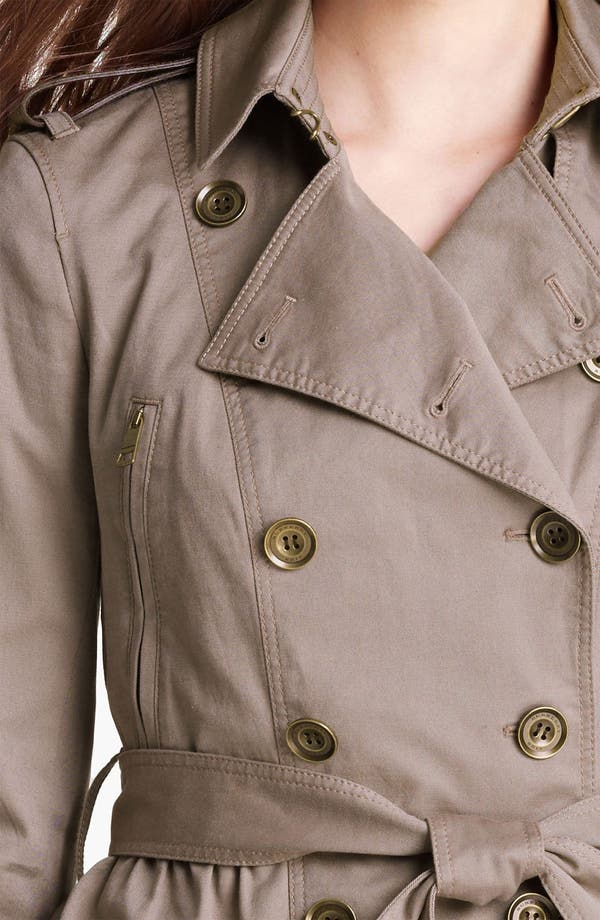 Alternate Image 3  - Burberry Brit 'Faulkbourne' Trench Coat (Online Only)