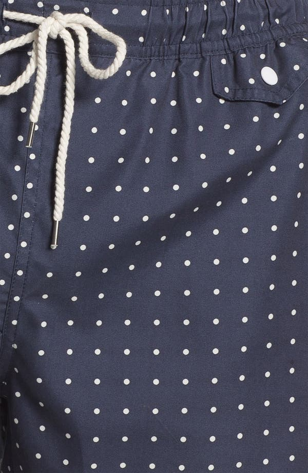 Alternate Image 3  - Topman Polka Dot Swim Trunks