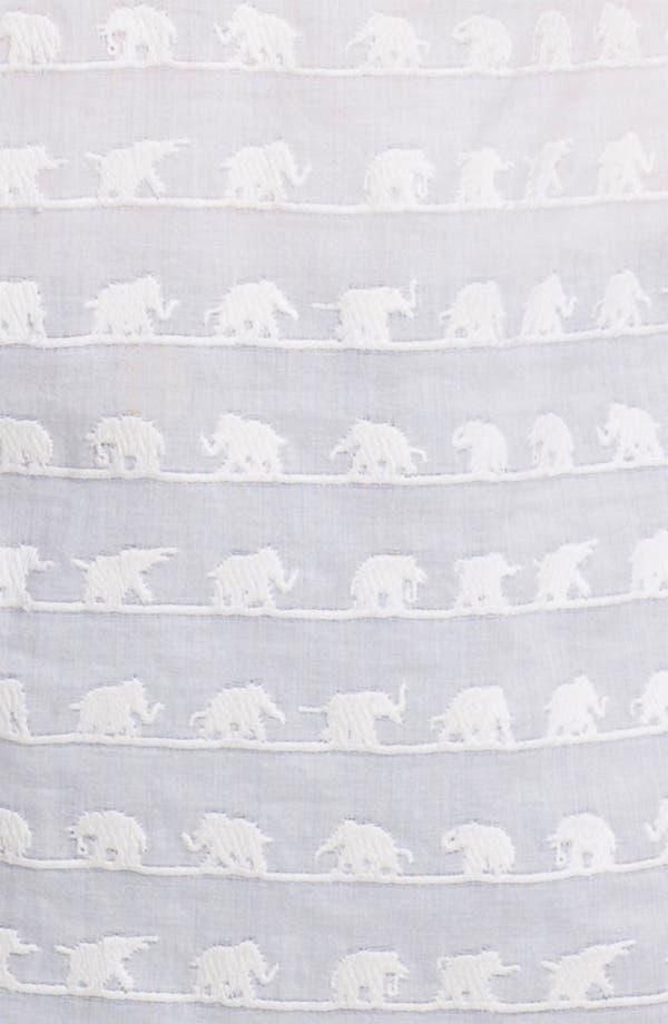 'Maxon' Cotton Top,                             Alternate thumbnail 3, color,                             Ivory Elephants