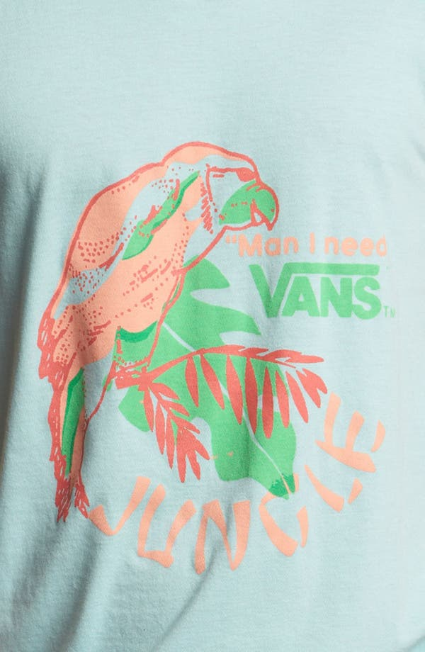 Alternate Image 3  - Vans 'Man I Need Vans - Jungle' Tank Top