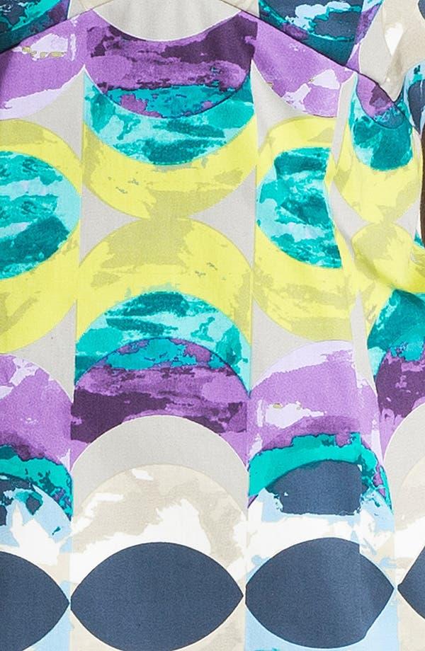 Alternate Image 3  - Donna Morgan 'Kimmy' Print Satin Sheath Dress