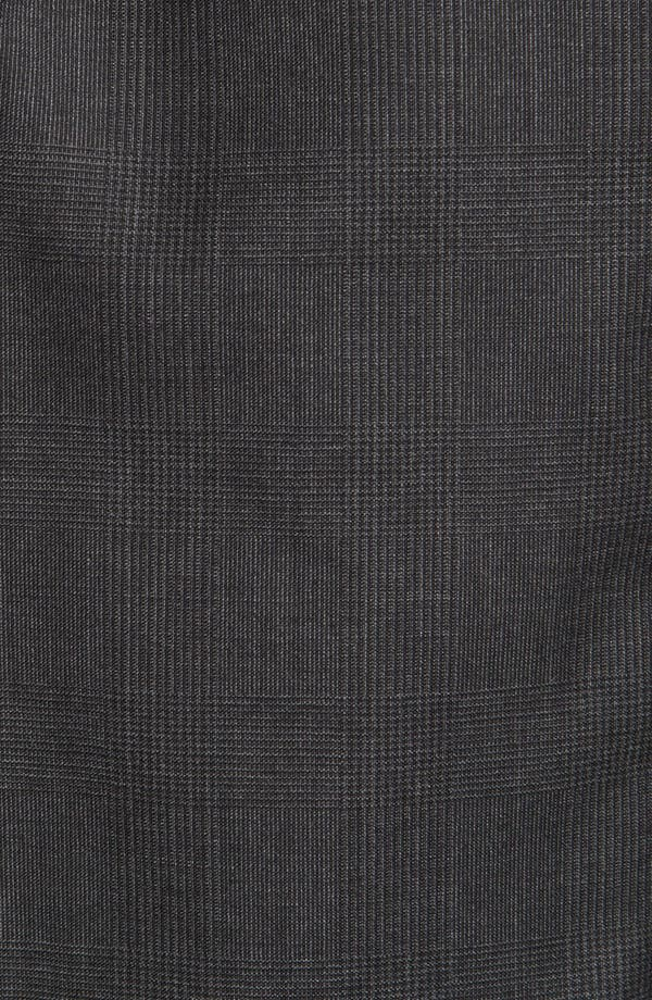 Alternate Image 6  - Joseph Abboud 'Signature Silver' Plaid Wool Suit (Online Only)