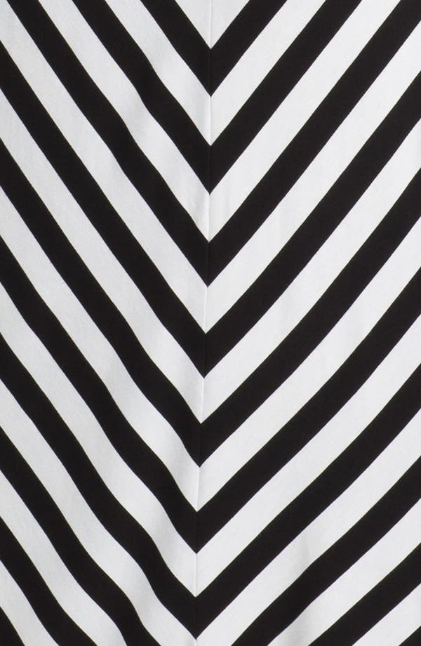 Alternate Image 3  - Calvin Klein Belted Stripe Maxi Dress