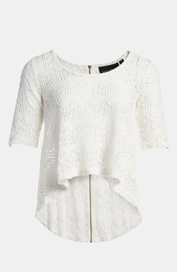 'High Tea' Top,                             Main thumbnail 1, color,                             Off White