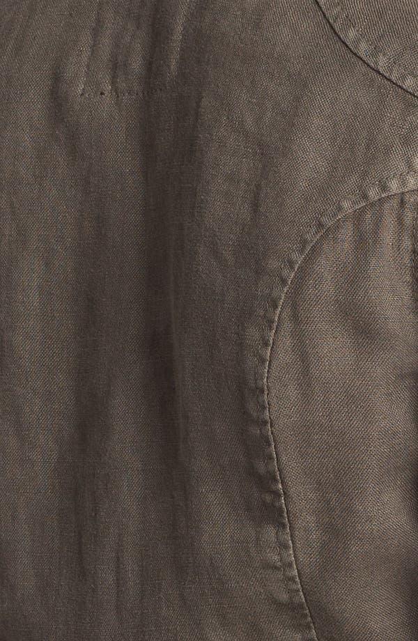 Alternate Image 3  - Sanctuary Linen Peplum Jacket